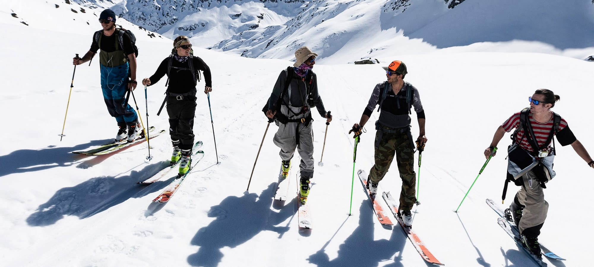Innsbruck Freeride Experience Snowmads Group Skitouring