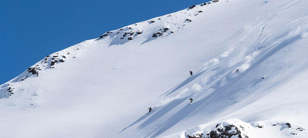 Innsbruck Freeride Experience Snowmads Group Skiing